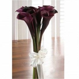 10 Black calla lily bouquet ( 3 Days advance order )