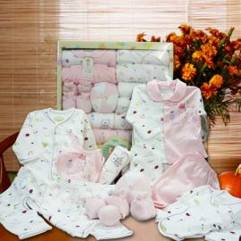 Baby Girl Gift Set Hamper Delivery ( 14 items )