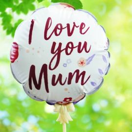 Add-on ( i Love You MOM ) 13cm Balloon