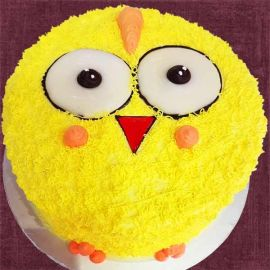 Add-On Little Yellow Chick Cake 0.5Kg