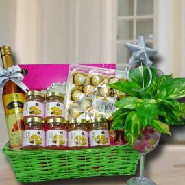 Pure Honey, Bird's nest, Money Plant & Rocher