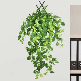 Artificial Hanging Money Plant 50 cm Total Height