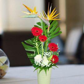 Bird Of Paradise Fresh Flowers Arrangement