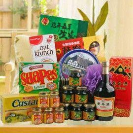 Yomeishu 700ml, Bird's Nest 6 Bottles x 45ml, Fish Essence 6 Bot
