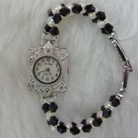 Black White Classic Watch