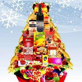 Red Wine Mirth Christmas Gift Hamper