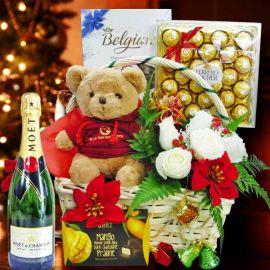 Christmas Hamper & Gift Basket XM117