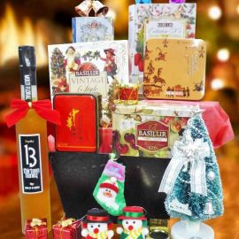 Scrumptious Cheer Christmas Gifts Basket